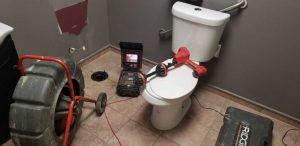 commercial drain snaking equipment