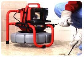 drain service camera inspection