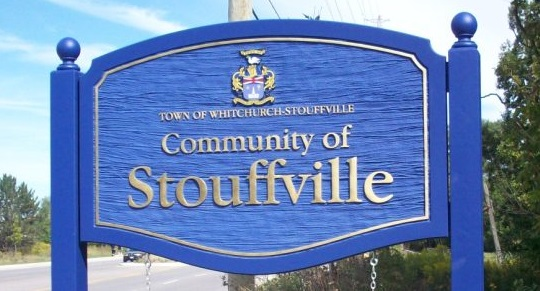Stouffville Sign