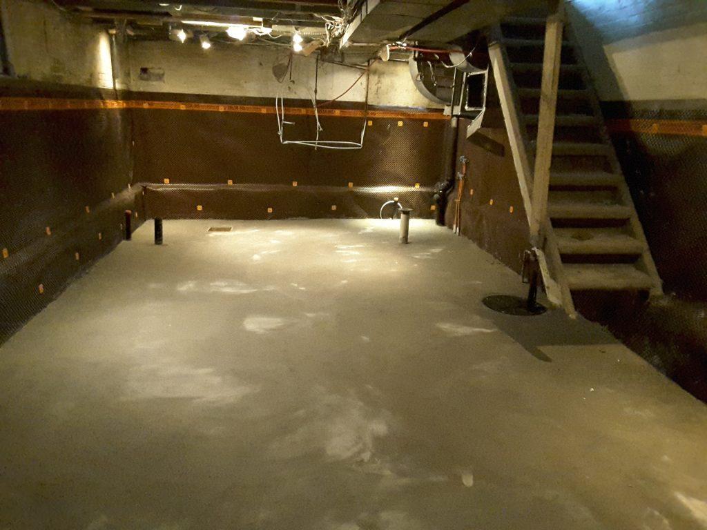 basement lowering - full basement