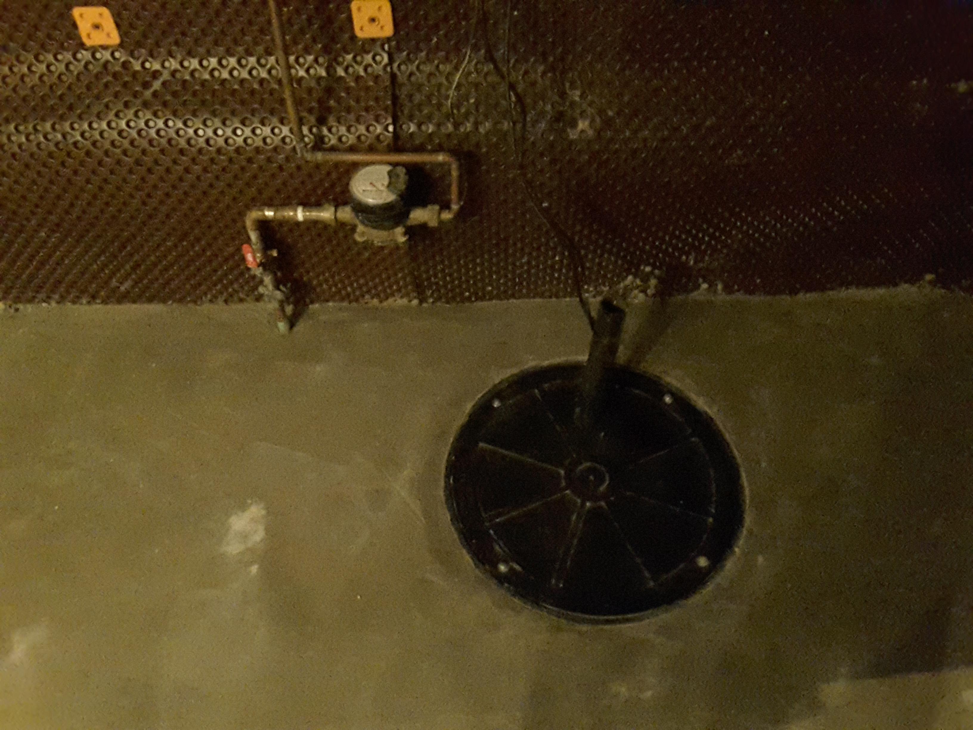 Basement Lowering - Sump Pump
