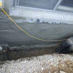 concrete wall waterproofing