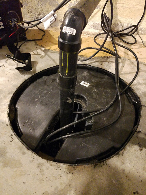 basement sump pump cover