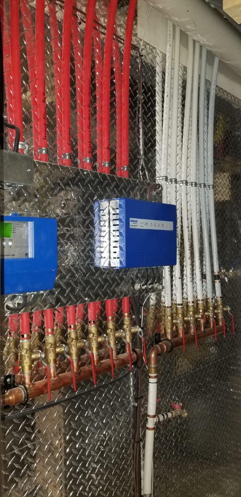 manifold installation