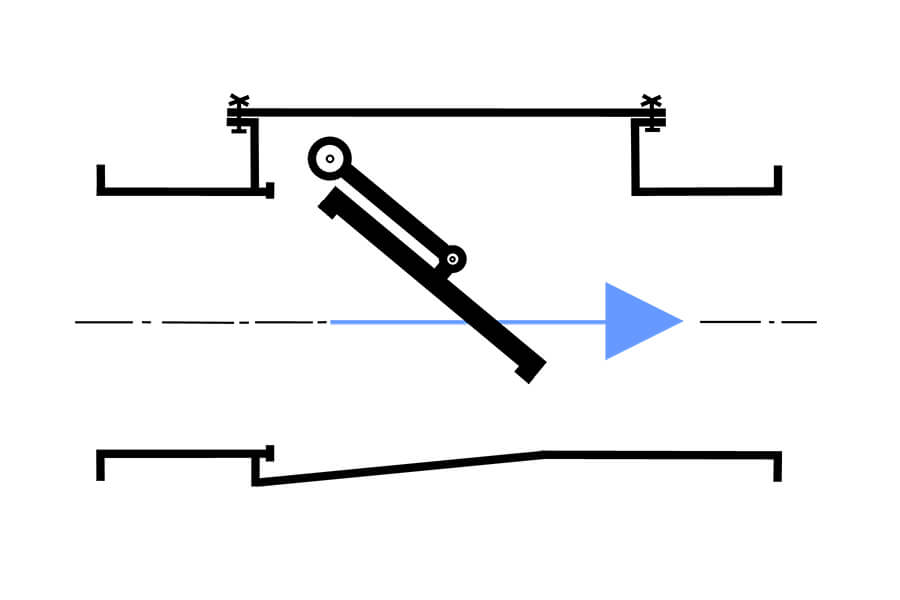 check valve how it functions illustration