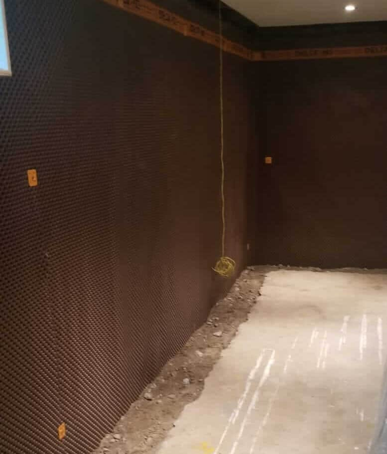 interior waterproofing membrane in Toronto