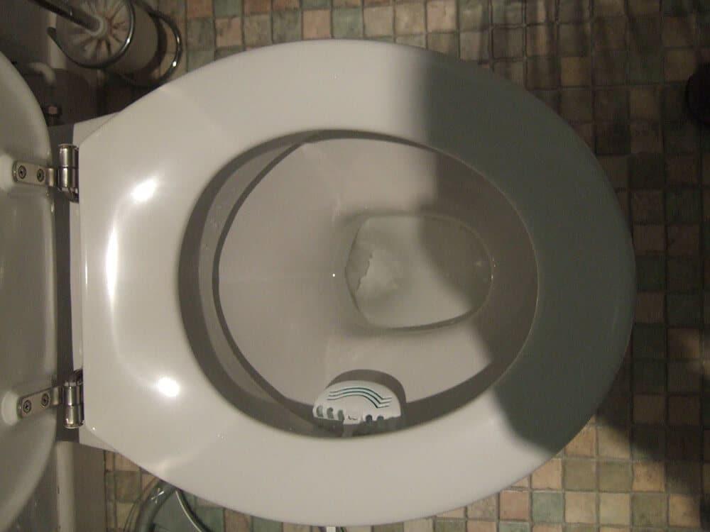 toilet that isn't flushing well