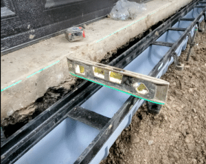 Trench Drain Level